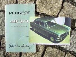 Foto 4 Peugeot 203 Betriebsanleitung (1954)