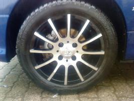 Peugeot 206 Alukompletträder
