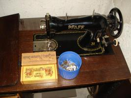Pfaff 31 Nähmaschine (Orginalzustand) 60er Jahre