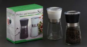 Pfeffermühle + Salzmühle im Set