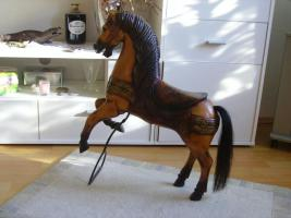 Pferd Antik aus Holz