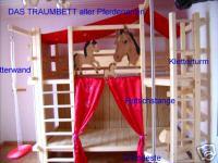 '' Pferde Träume '' Hochbett Kinderbett Etagenbett Bett NEU