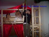 Foto 5 '' Pferde Träume '' Hochbett Kinderbett Etagenbett Bett NEU