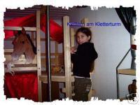 Foto 6 '' Pferde Träume '' Hochbett Kinderbett Etagenbett Bett NEU
