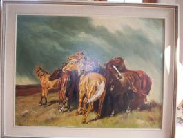 Pferdebild von A. Gilbert 62