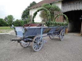 Foto 2 Pferdekutsche  (Leiterwagen)