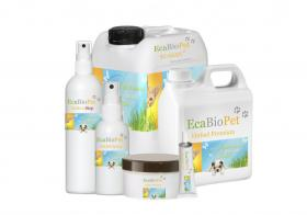 Pferdepflege-Set, Shampoo, Zeckenmittel, CoolGel, Wundspray, Huföl, Seidenglanz