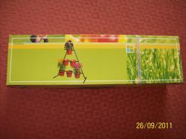 Foto 2 Pflanzenpyramide aus Metall, mit Töpfen