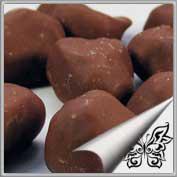 Pflaume in Vollmilchschokolade