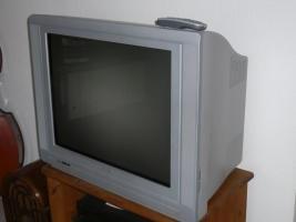 Philipps R�hrenfernseher Bild 70 cm, silber