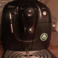 Philips Saeco HD8743/11 Kaffeevollautomat XSMALL / 15 bar / 1 l Wasserbeh�lter / Dampfd�se / schwarz