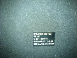 Foto 2 Philips Stereo-Lautsprecher