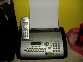 Phonefax  mit  Schnurloshörer