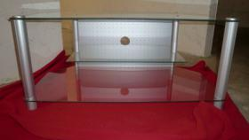 Phonoschrank Glas
