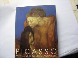 Picasso Pastelle, Zeichnungen, Aquarelle Düsseldorf 1986