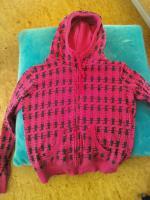 Pinke Sweatshirtjacke von Only