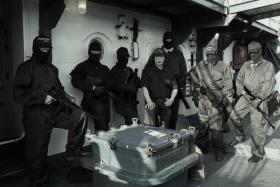 Piratenabwehr Private Sicherheitsmitarbeiter an Bord von Frachtern , Berufserfahrung und Ausbildung / Trainingsinhalte wie bei Marine und Bundespolizei