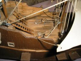 Foto 6 Piratenschiff aus Streich�lzern