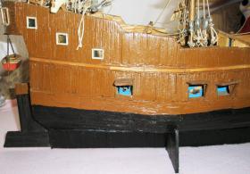 Foto 8 Piratenschiff aus Streich�lzern