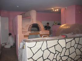 Pizzeria zu verkaufen, 16 Sitzplätze, Original Steinofen