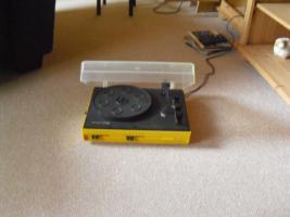 Plattenspieler RFT Schallplatten