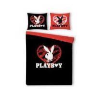 Playboy Bettwäsche Black Heart
