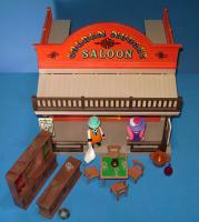 Playmobil saloon golden nugget mit barkeeper und molly brown 3787