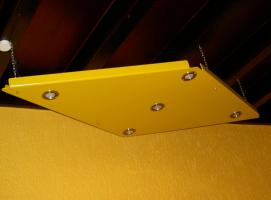 Plexiglas-Unikat � Lampe/Spot � Ma�anfertigung in Gelb