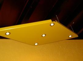 Foto 2 Plexiglas-Unikat � Lampe/Spot � Ma�anfertigung in Gelb