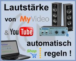 Pötter Audio-Limiter MAX12 automatisch Lautstärke regeln
