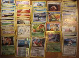 Pokemon-Karten 44 Stück, deutsch+englisch