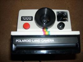 Polaroid Sofortbildkamera Modell 1000 70er/80er Jahre