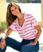 Poloshirt weiß-rosé-pink - TOGETHER - Größe 36 - Neu & OVP