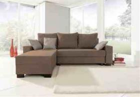 Polsterecke Couch Sofa Recamiere links günstig abzugeben