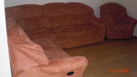 Foto 2 Polsterecke (mit Schlaffunktion) inkl. Sessel und Fernsehsessel zu verkaufen