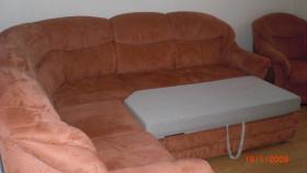 Foto 3 Polsterecke (mit Schlaffunktion) inkl. Sessel und Fernsehsessel zu verkaufen