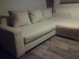 Foto 2 Polsterecke - XXL Sofa + MegaHocker - sehr gepflegt