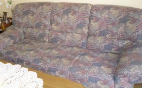 Polstergarnitur 3-Sitzer + 2-Sitzer + Sessel