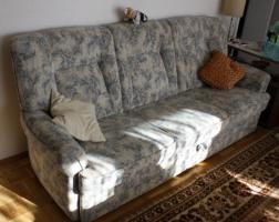 Foto 2 Polstergarnitur bestehend aus 3-Sitzer + 2Sessel Topzustand !!!