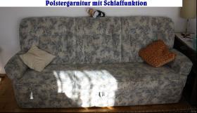 Foto 3 Polstergarnitur bestehend aus 3-Sitzer + 2Sessel Topzustand !!!