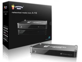 Popcorn Hour A-110 Full HD Netzwerkplayer LAN inkl. 250GB HDD in OVP (RESTGARANTIE)