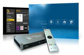 Foto 3 Popcorn Hour A-110 Full HD Netzwerkplayer LAN inkl. 250GB HDD in OVP (RESTGARANTIE)