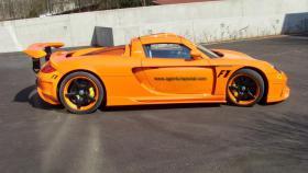 Porsche Carrera GT - Rennstreckenerlebnis