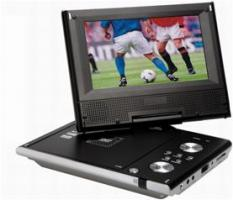 Portable 7� DVD-Player PTV 34509-1 Heru