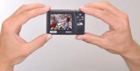 Foto 2 Portabler Mini-DVR mit LCD