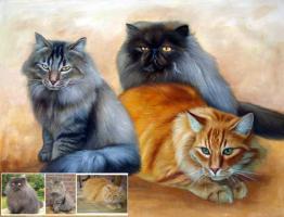 Foto 6 Portrait in Öl als Geschenk?