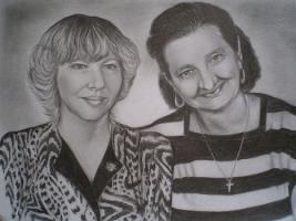 Foto 4 Portrait Zeichnung