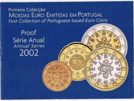 Portugal Amtlicher Original Kursmünzensatz '' 2002 '' PP ! !