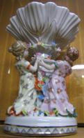 Foto 2 Porzellan Figurengruppe -gemarkt