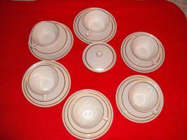 Foto 2 Porzellan Teeservice für 6 Personen ( Weimar)